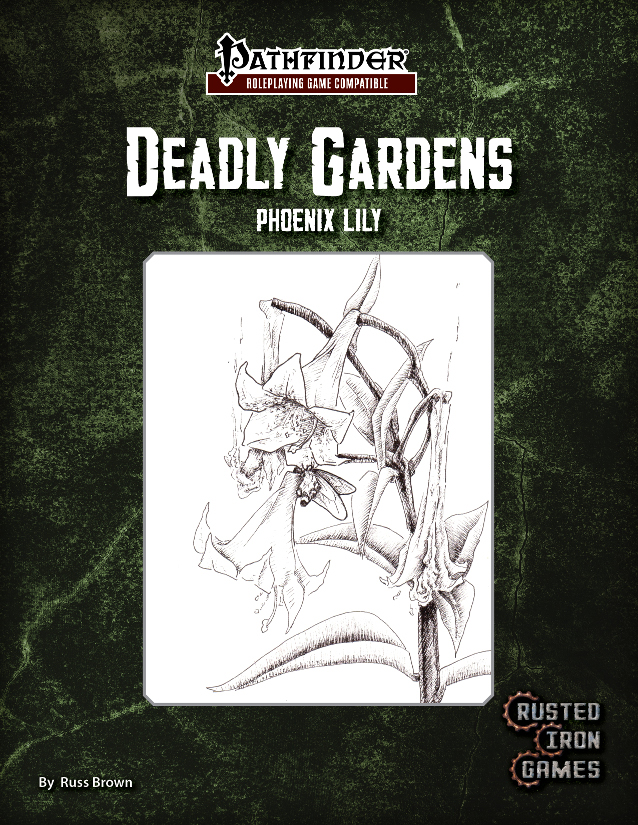 Deadly Gardens, Volume 1: Phoenix Lily