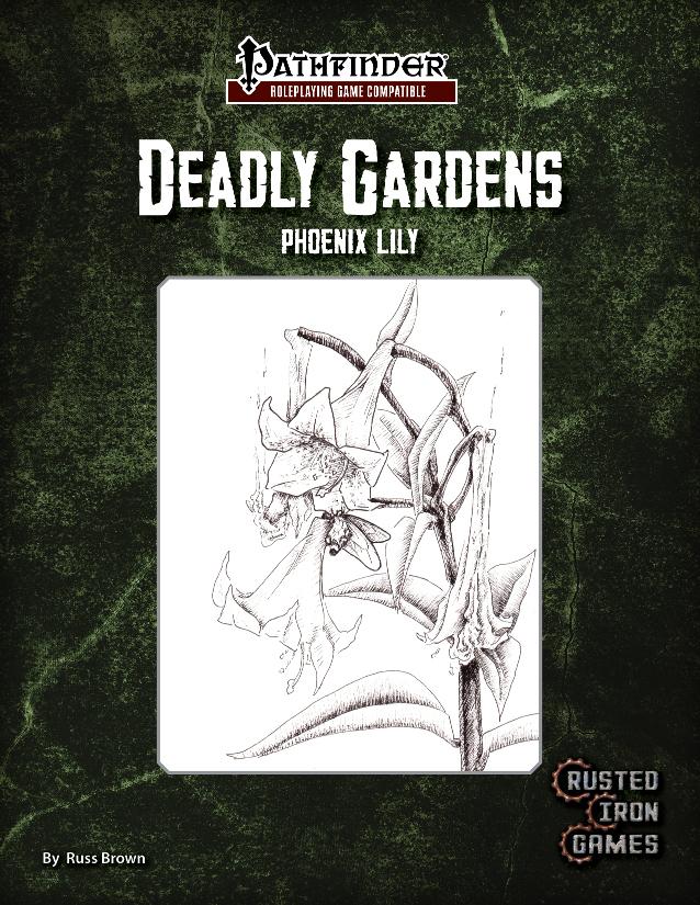 Deadly Gardens, Volume 1: Phoenix Lily