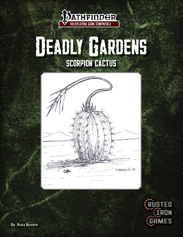 Deadly Gardens Volume 3: Scorpion Cactus