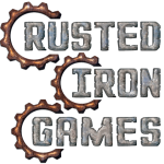 Rusted Iron Games Logo