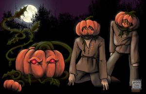 Brain Pumpkin by Liz Courts