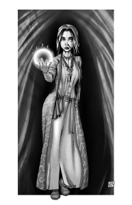 Roshni, the R.I.G. Witch by Keith Wood