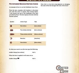 Pathfinder 2E – Rusted Iron Games